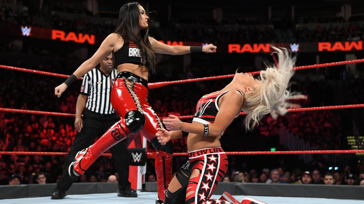 brie bella liv morgan concussion