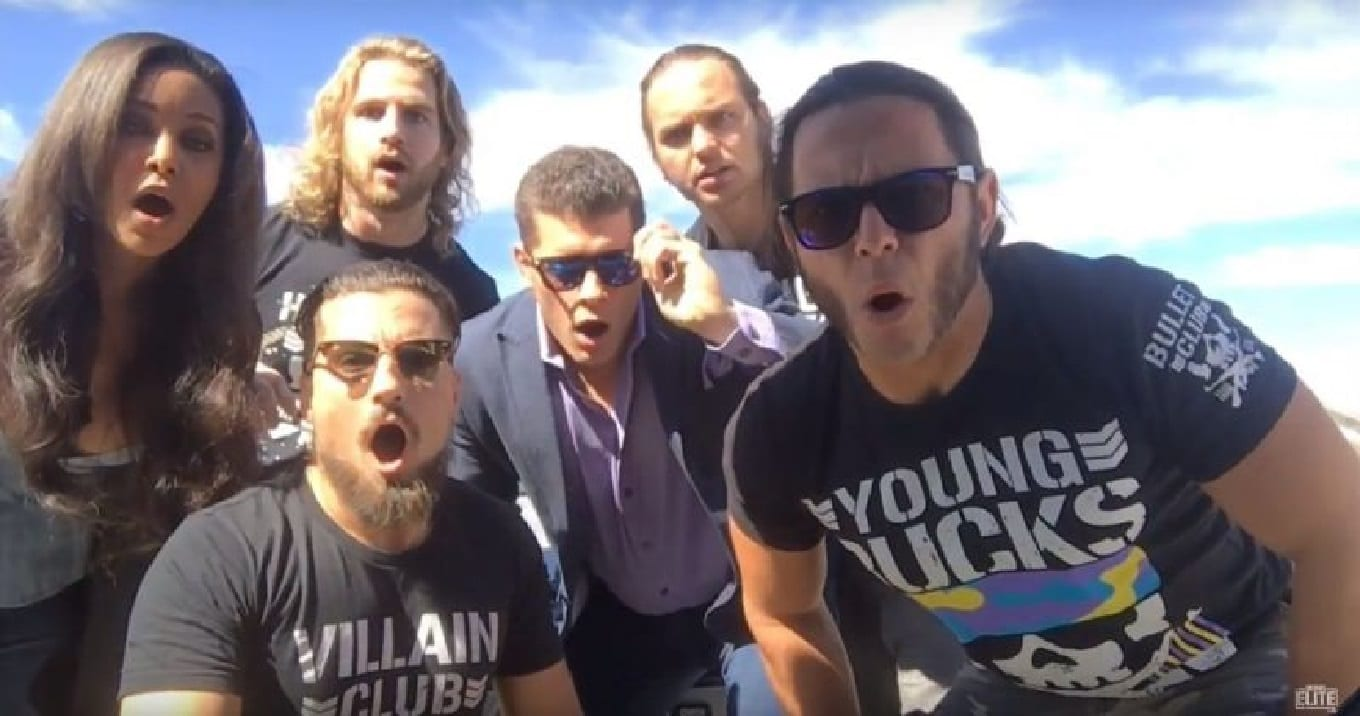 bullet club invasion