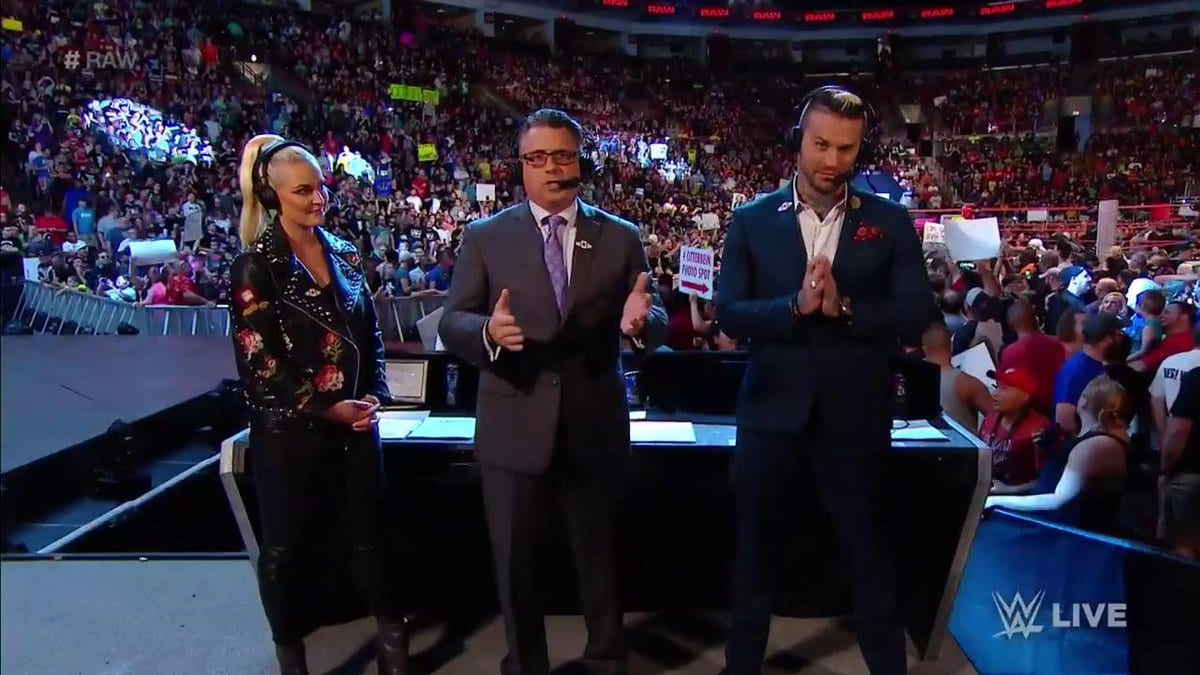 renee young announce table