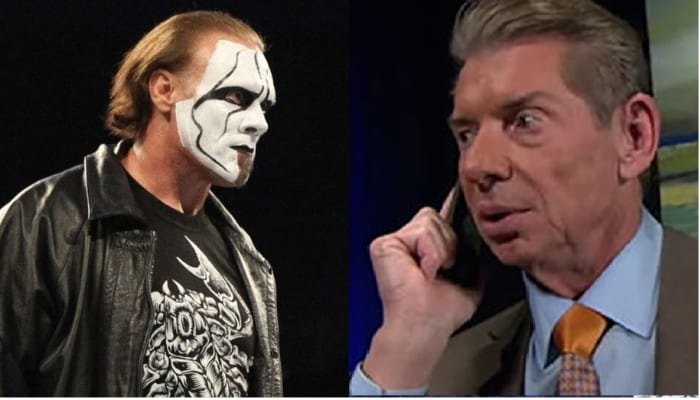 sting and vince mcmahon phone