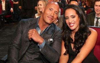 the rock and daugher