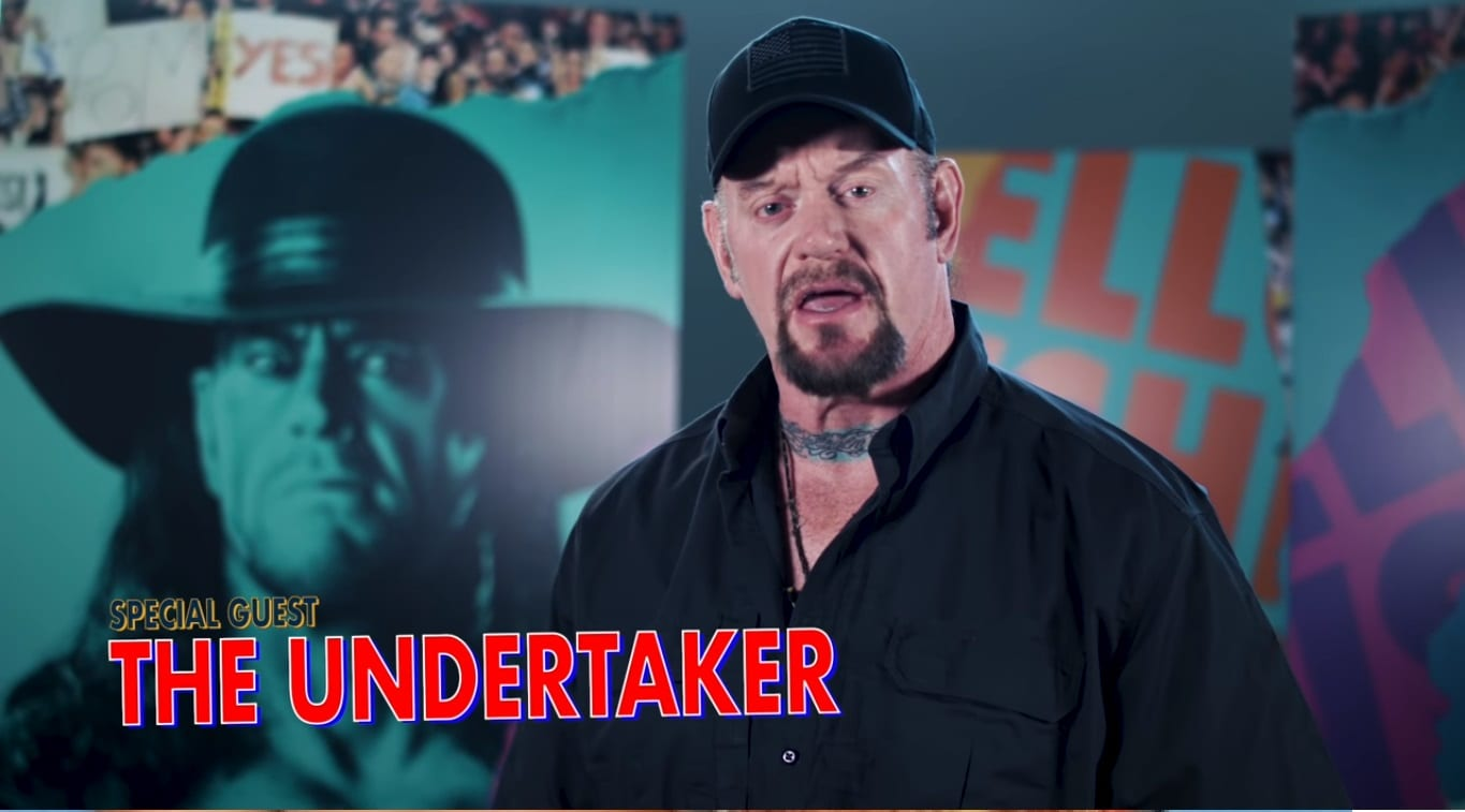the undertaker special guest