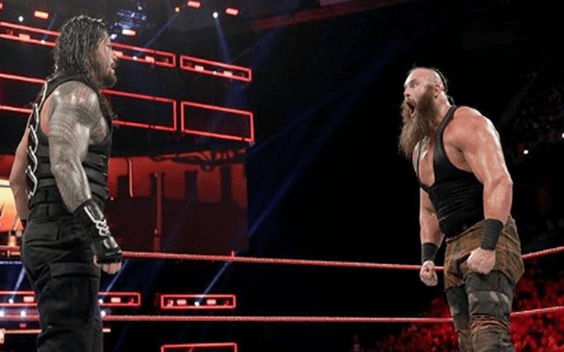 Braun Strowman Roman Reigns