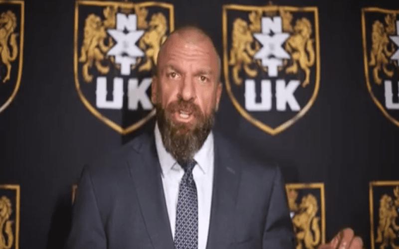 NXT UK Triple H
