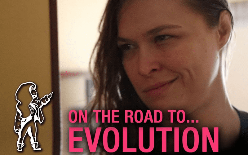 Ronda Rousey On The Road To Evolution