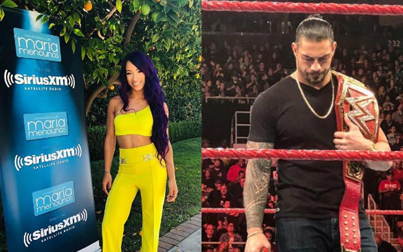 Sasha Banks Roman Reigns