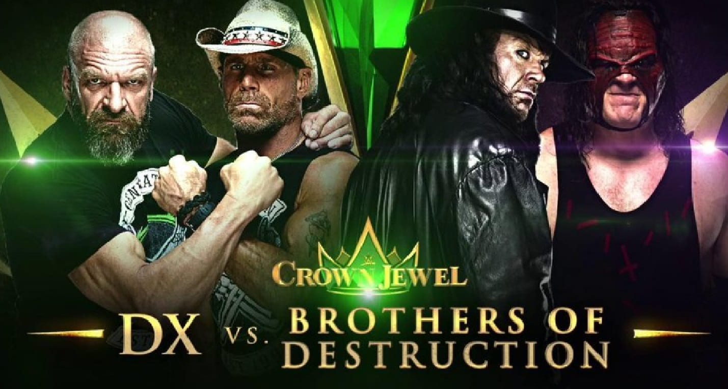 dx vs brothers of destruction crown jewel match
