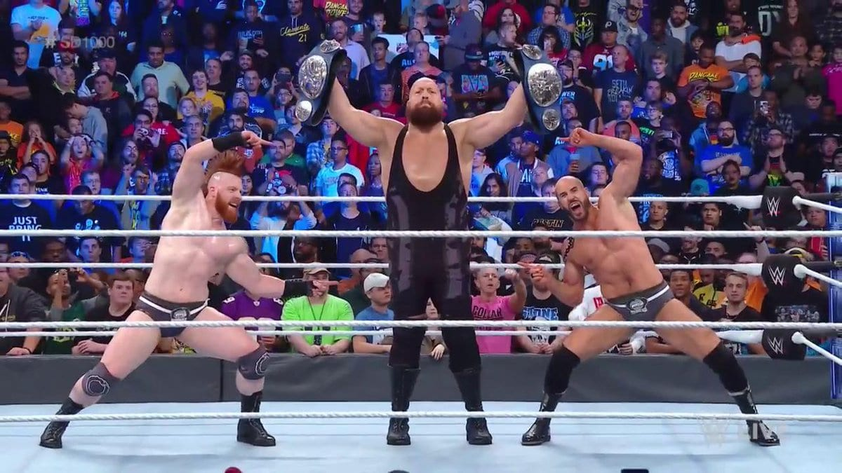the bar big show champs smackdown 1000
