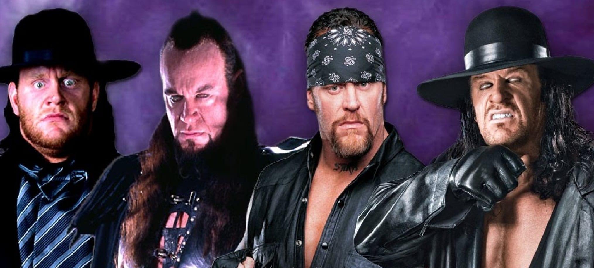 undertaker through the years
