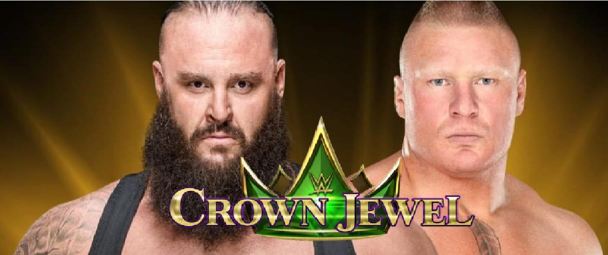 wwe crown jewel new ut match