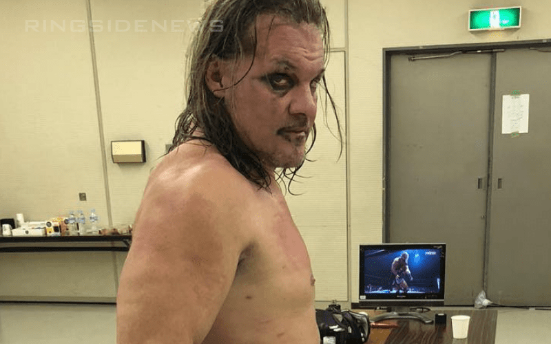 Chris-Jericho-after-NJPW-Match