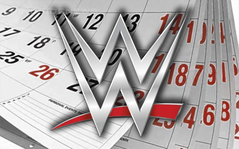 WWE-Calendar
