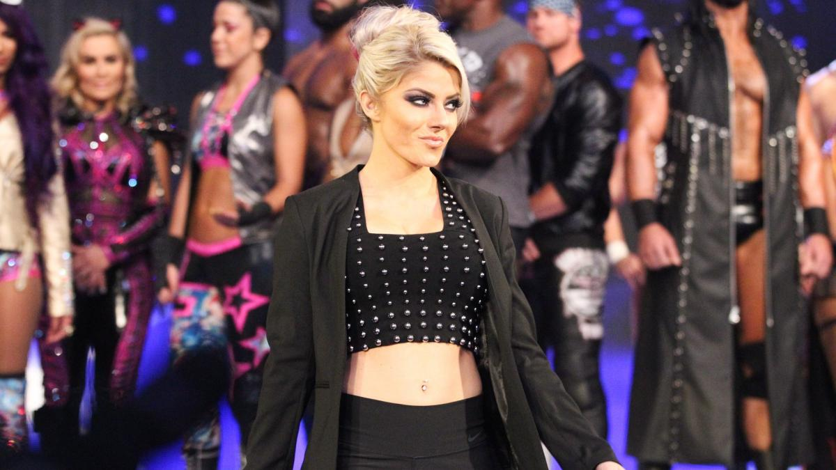 alexa bliss black business casual