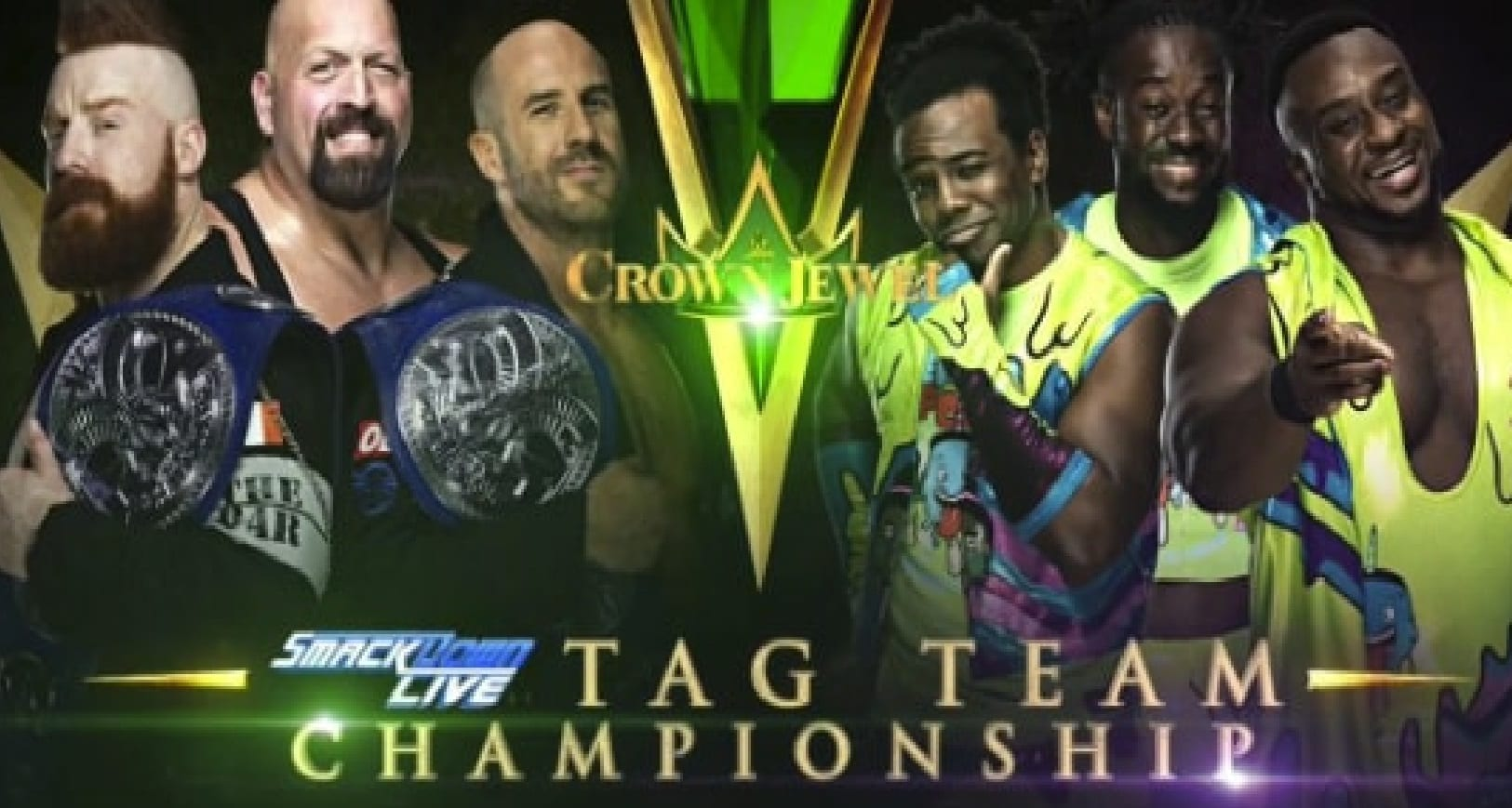cj tag team match