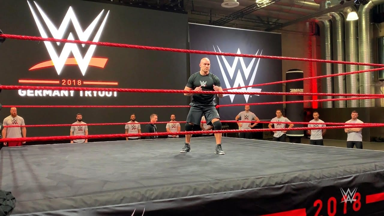 Footage from the WWE Tryout In Germany