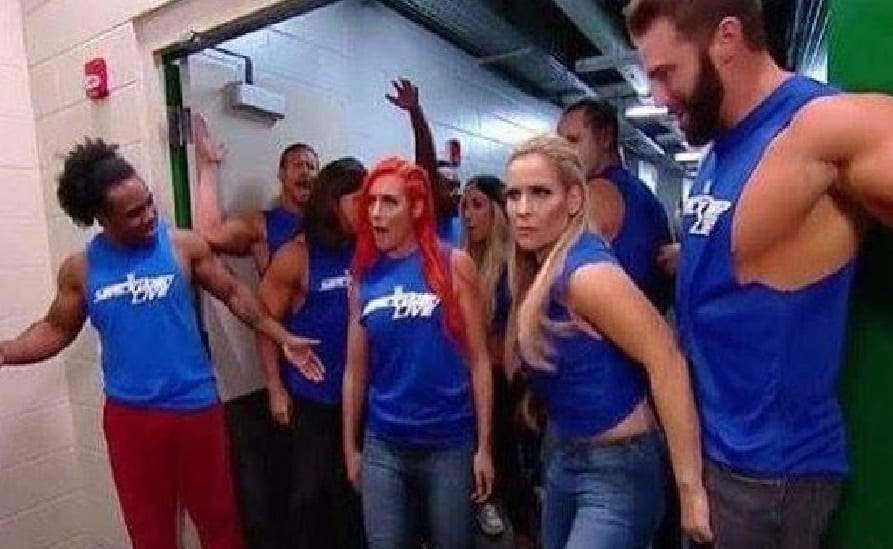 smackdown invasion