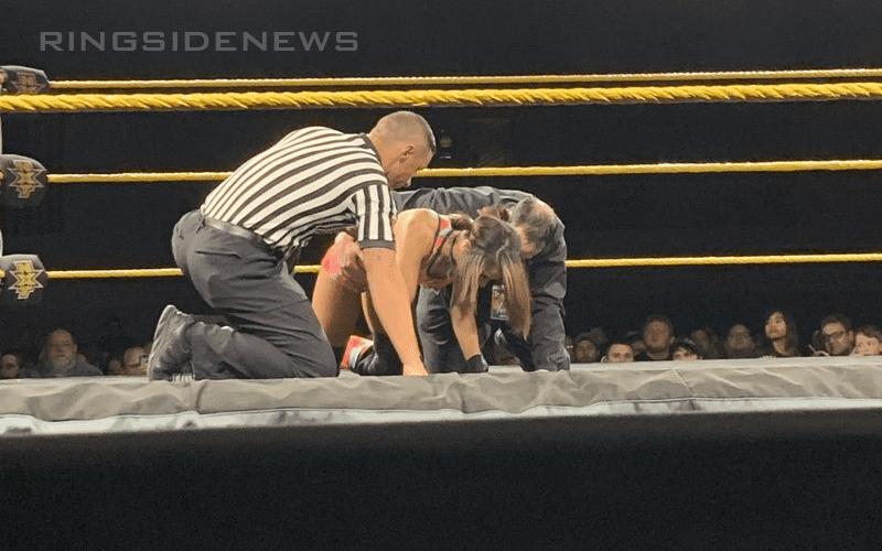 Dakota-Kai-Possibly-Injured-at-WWE-NXT-Event