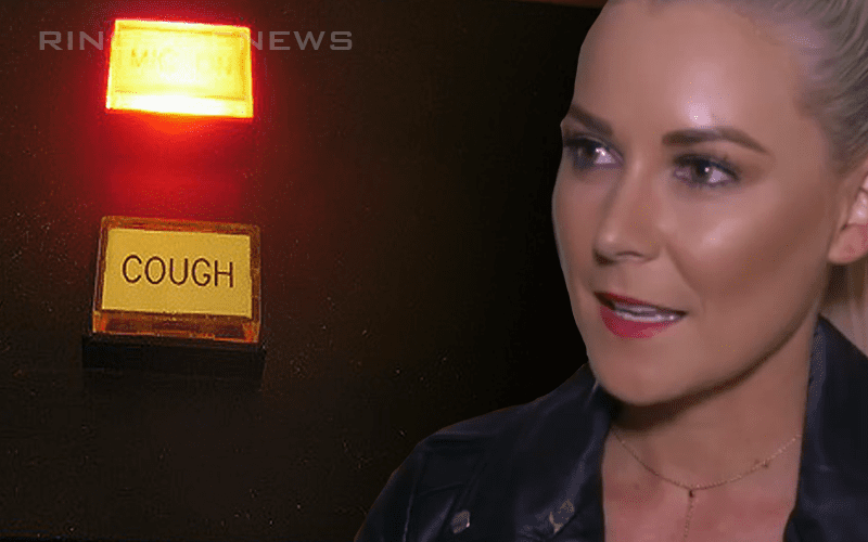 Renee-Young-Cough-Button