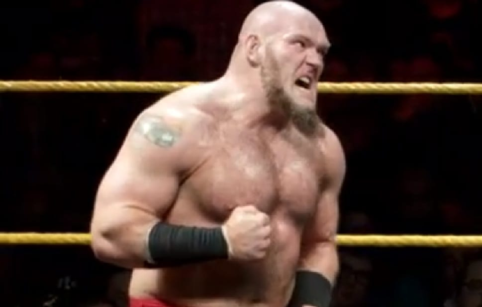 Why Lars Sullivan Didn't Lose His Last Match In NXT On His
