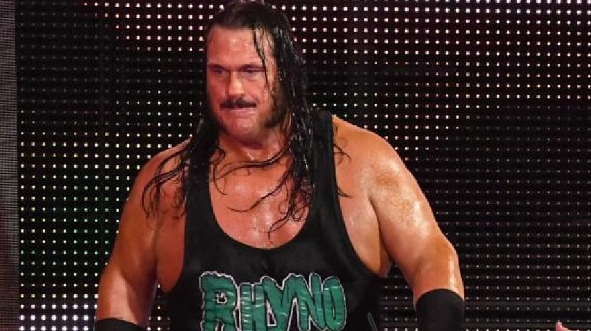 Terrence E Deal >> Rhyno's Current WWE Status After Being Fired On RAW
