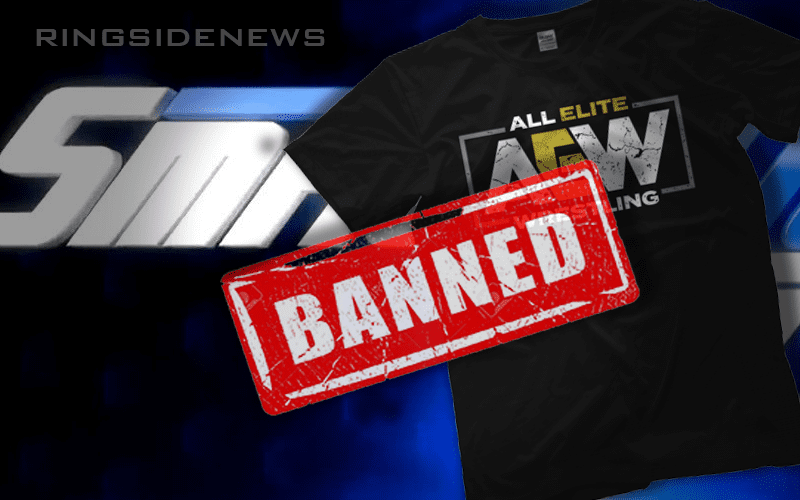 SmackDown-Bans-AEW-Merch
