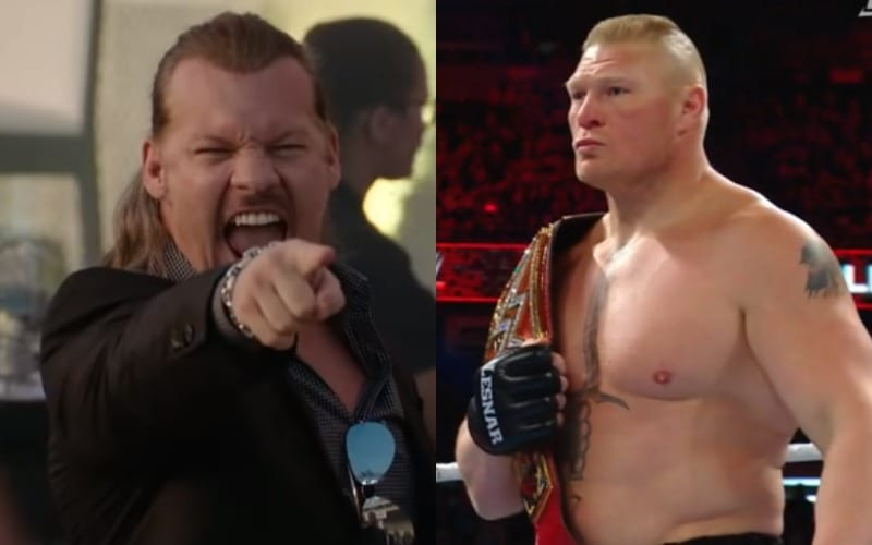 chris jericho brock lesnar 234