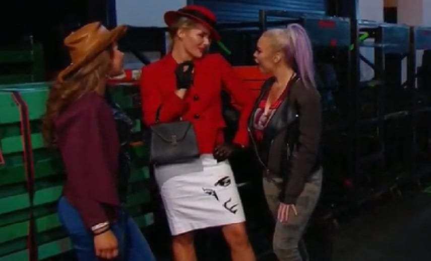 lacey evans debut