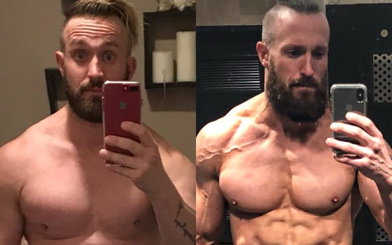 mike kanellis before after
