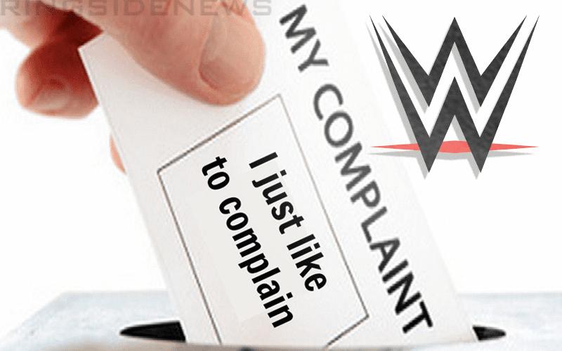 complaints-wwe