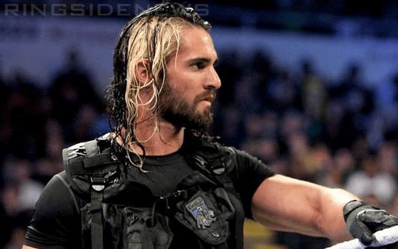 Seth Rollins Reveals Why He Dyed Half Of His Hair Blonde