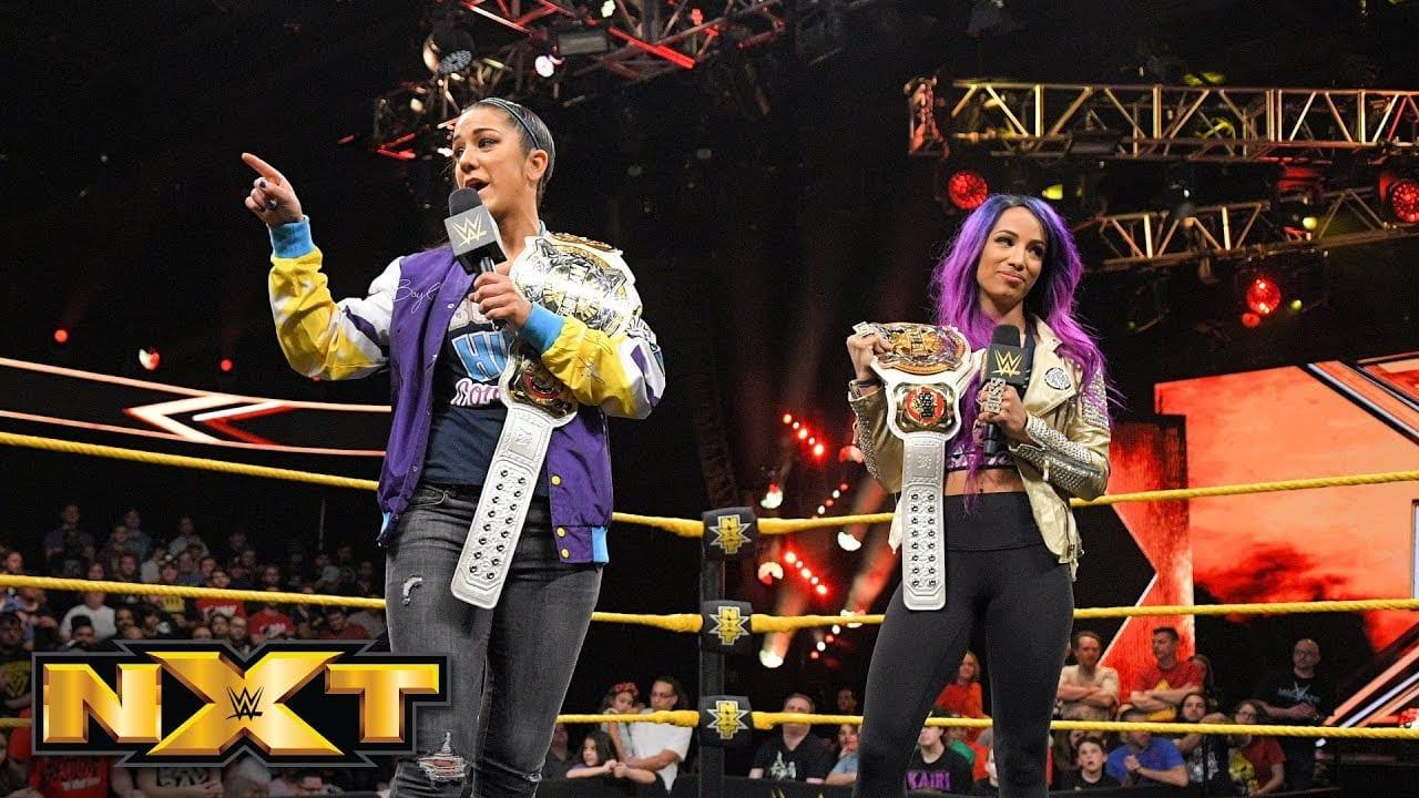 Watch Sasha Banks & Bayley's Return To WWE NXT