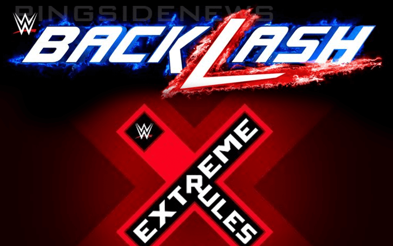 Locations Revealed For WWE Backlash & Extreme Rules