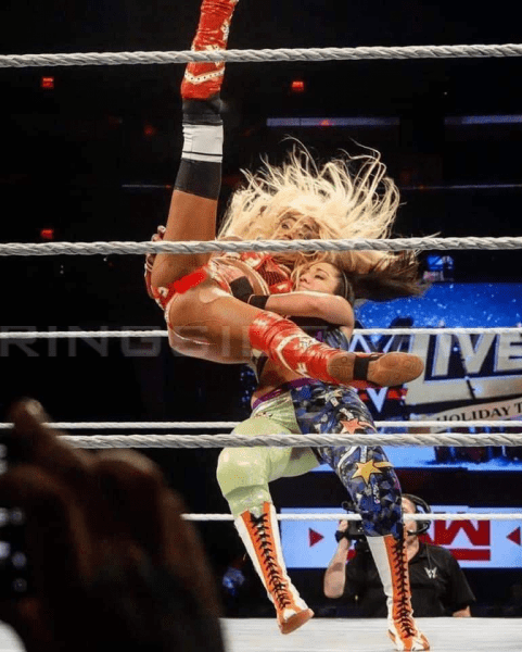 Alica Fox Wardrobe Malfunction During Wwe Live Event Appears Online