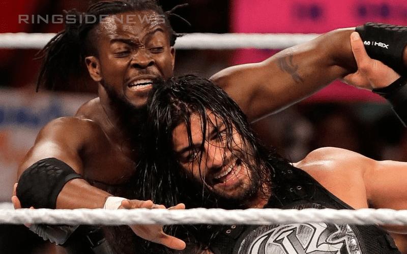 Kofi-Kingston-vs-Roman-Reigns