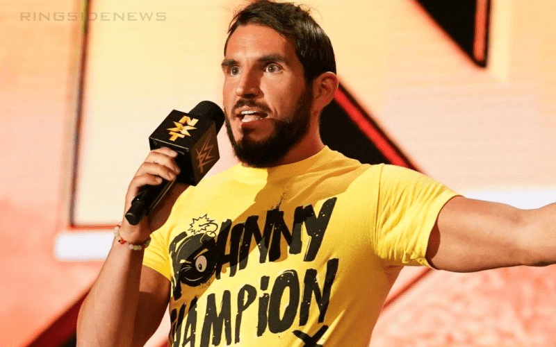 Johnny Gargano Out Of Action With Injury