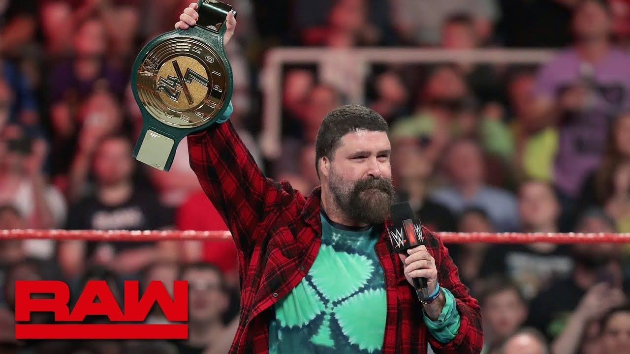 Mick Foley Blames Himself For Poor Reception Of WWE 24/7 Title