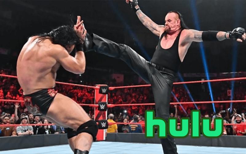 WWE-Hulu