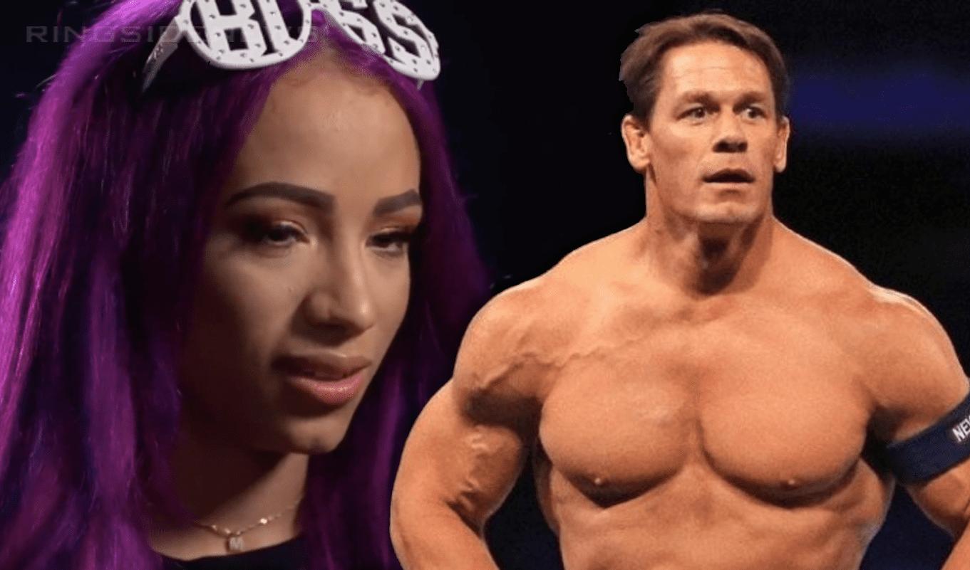 Sasha Banks Leans On John Cena For Inspiration