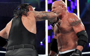 Mike Chioda Almost Called Off The Undertaker & Goldberg's Match After They Almost Broke Their Necks