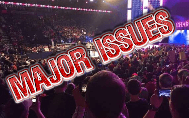 major-issues-wwe-event