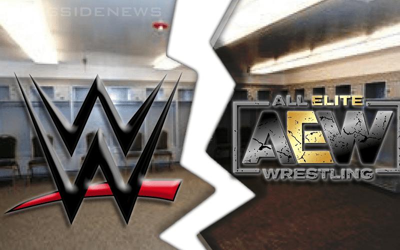 wwe-aew-locker-room-split