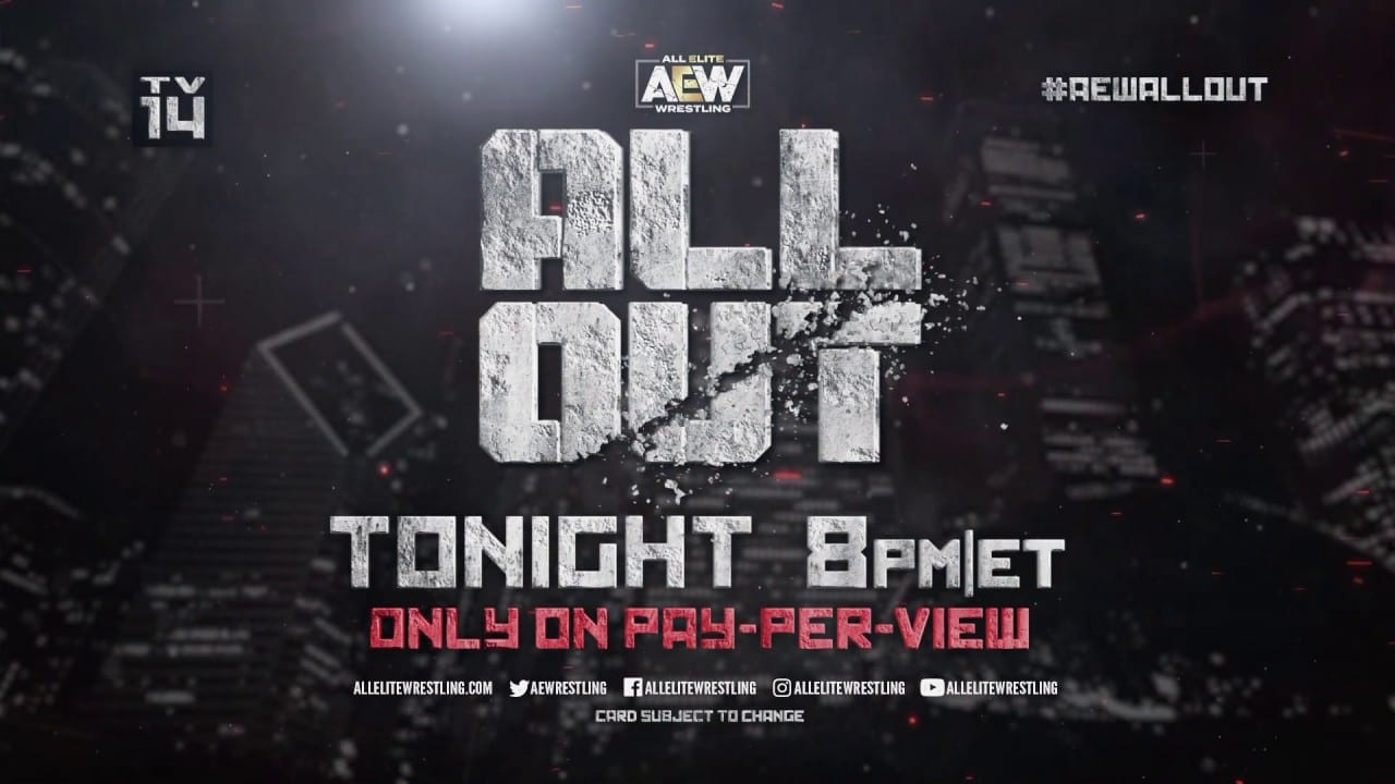 Final Card & Start Time for AEW All Out