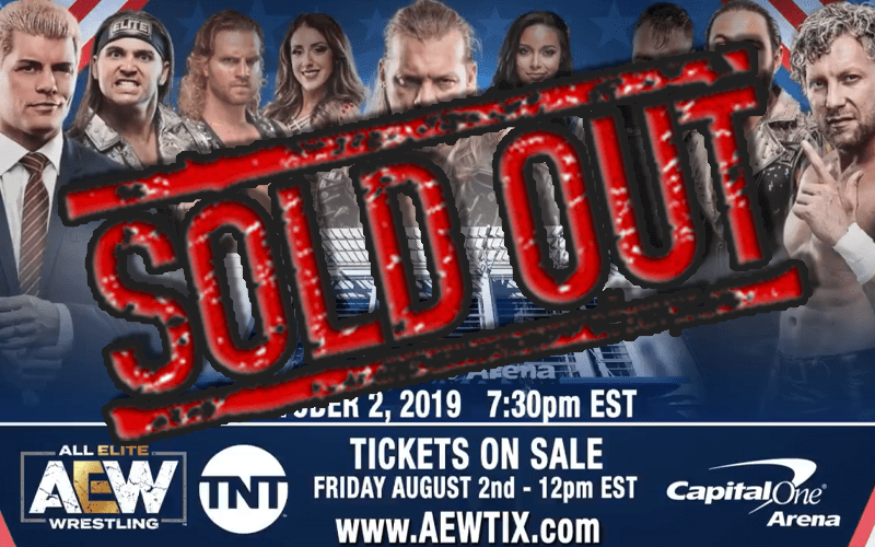 sold-out-aew-debut