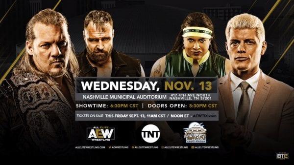 aew rivela - all elite wrestling