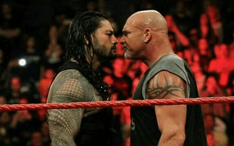 Goldberg-Roman-Reigns