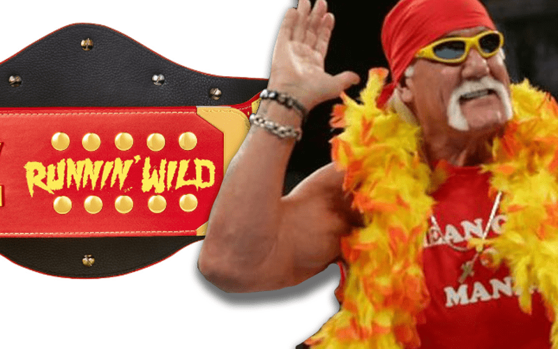 WWE Releases Limited Edition Hulk Hogan Title - Ringside News
