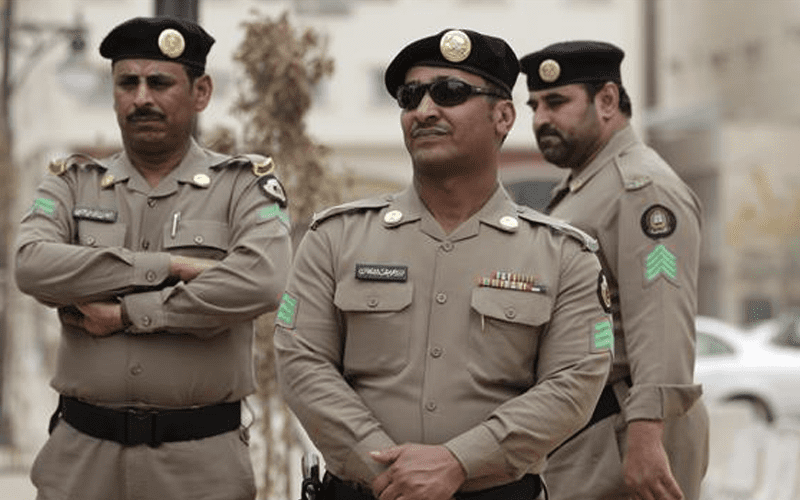 saudi-military-police