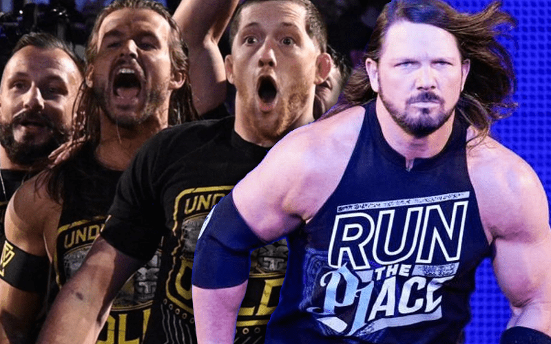 Bobby Fish Says AJ Styles Is No Match For Undisputed Era - Ringside News