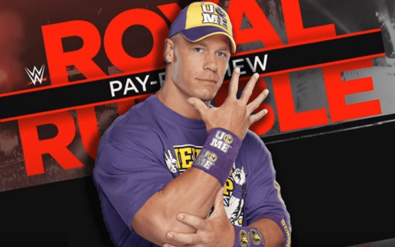 John Cena's Name 'Mentioned Internally' Before WWE Royal Rumble - Ringside News