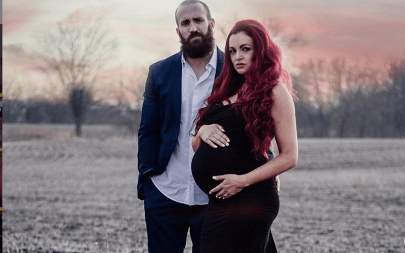 mike-maria-pregnant